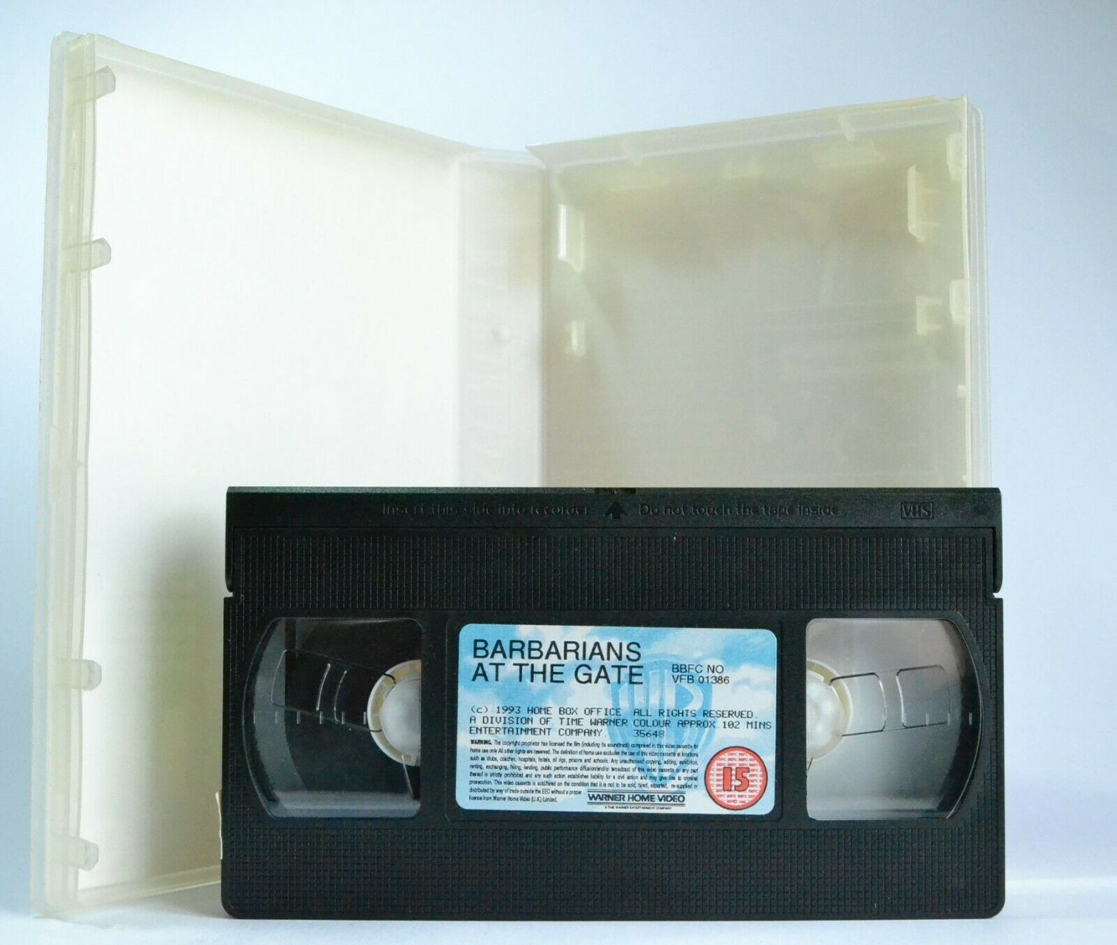 Barbarians At The Gate: (1993) TV Movie - Drama - Base On True Events - Pal VHS