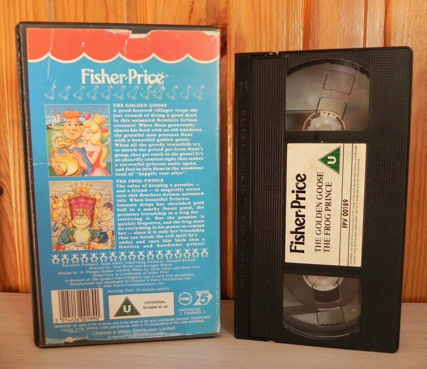 1990, Adventure, Andy, Animated, By, Children's & Family, Fairy, Garfield and Friends, Grane, PAL, Tales, U, United Kingdom, VHS, Walt Disney Studios