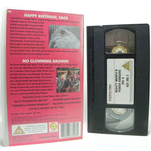 Mighty Morph'n Power Rangers: Happy Birthday, Zack - Action - Kids - Pal VHS