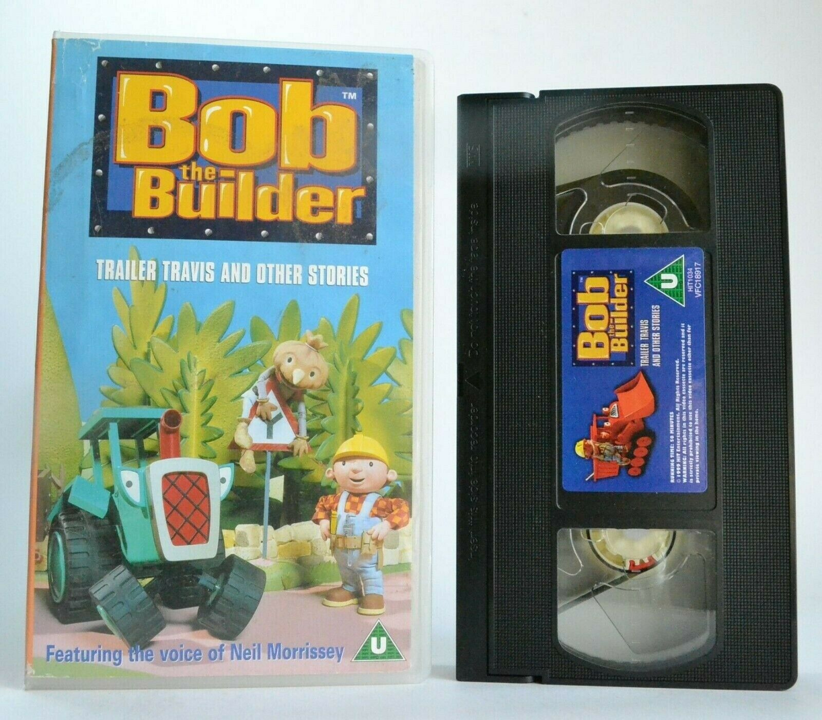 Bob The Builder: Trailer Travis And Other Stories - Animated - Children's - VHS