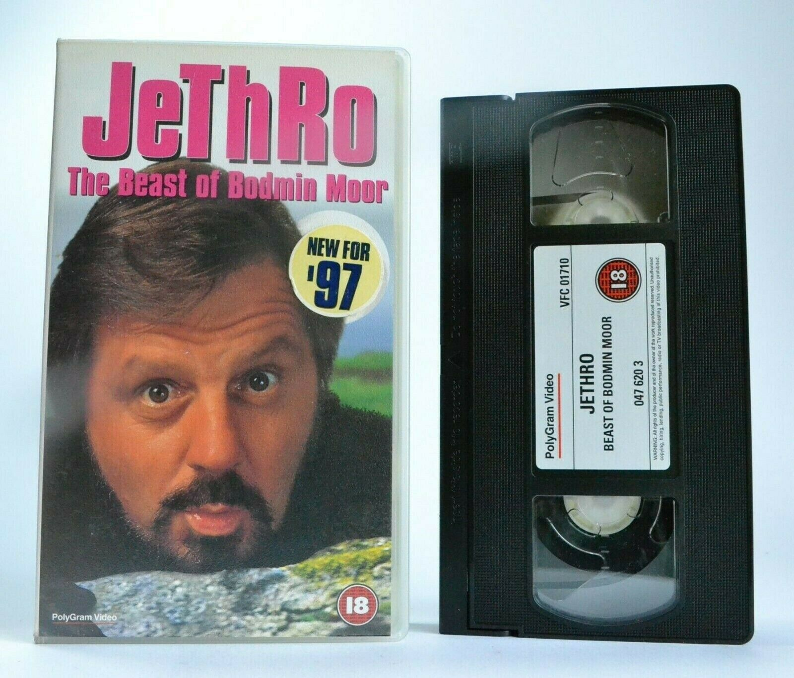 Jethro: The Beast Of Bodmin Moor - Denzil Penberthy - Madcap Sketches - Pal VHS
