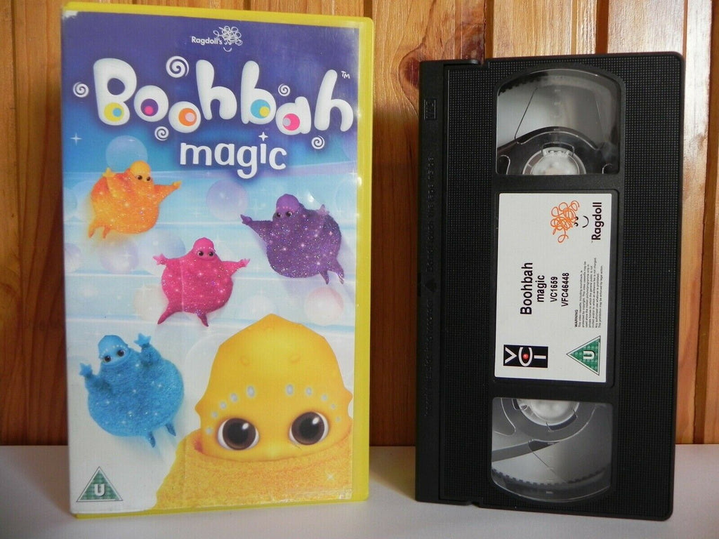 Boohbah: Magic - Ragdoll - 3 Episodes - Armchair - Skipping Rope - Kids - VHS