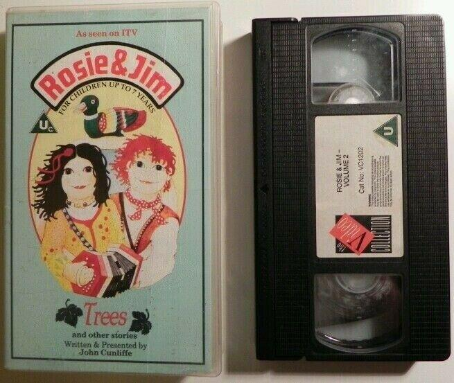 Rosie And Jim : Trees And Other Stories - Educational - Animated - Kids - VHS