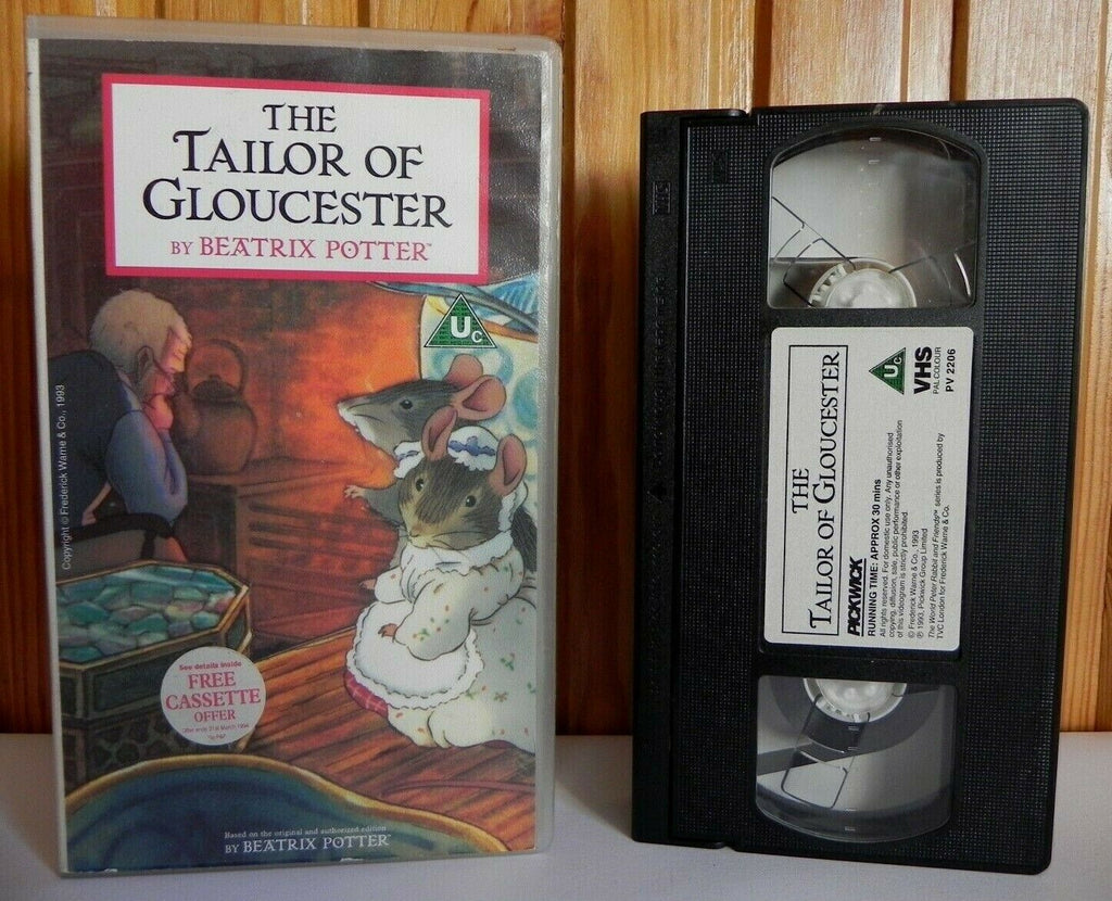 The Tailor Of Gloucester: Beatrix Potter - Classic Animation - Children's - VHS