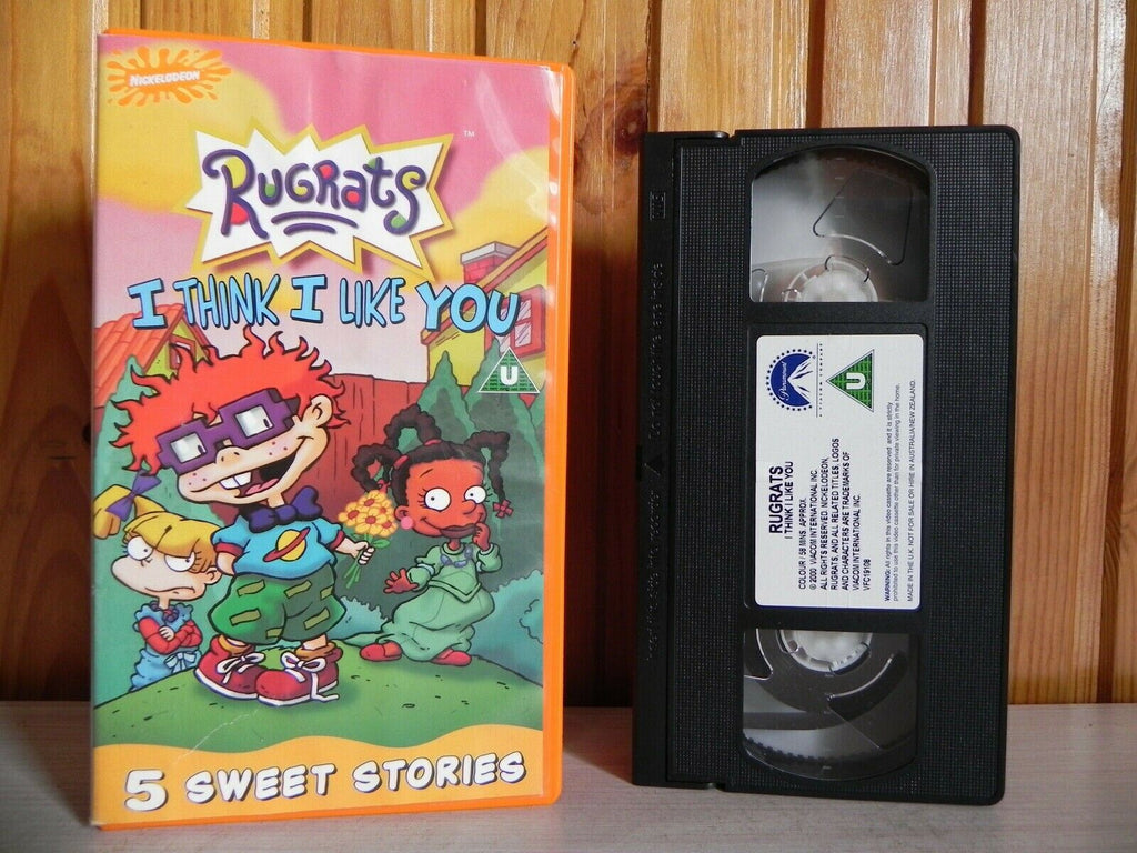 Rugrats - I Think I Like You - Nickelodeon - 5 Rug Rats Stories - Kids - Pal VHS
