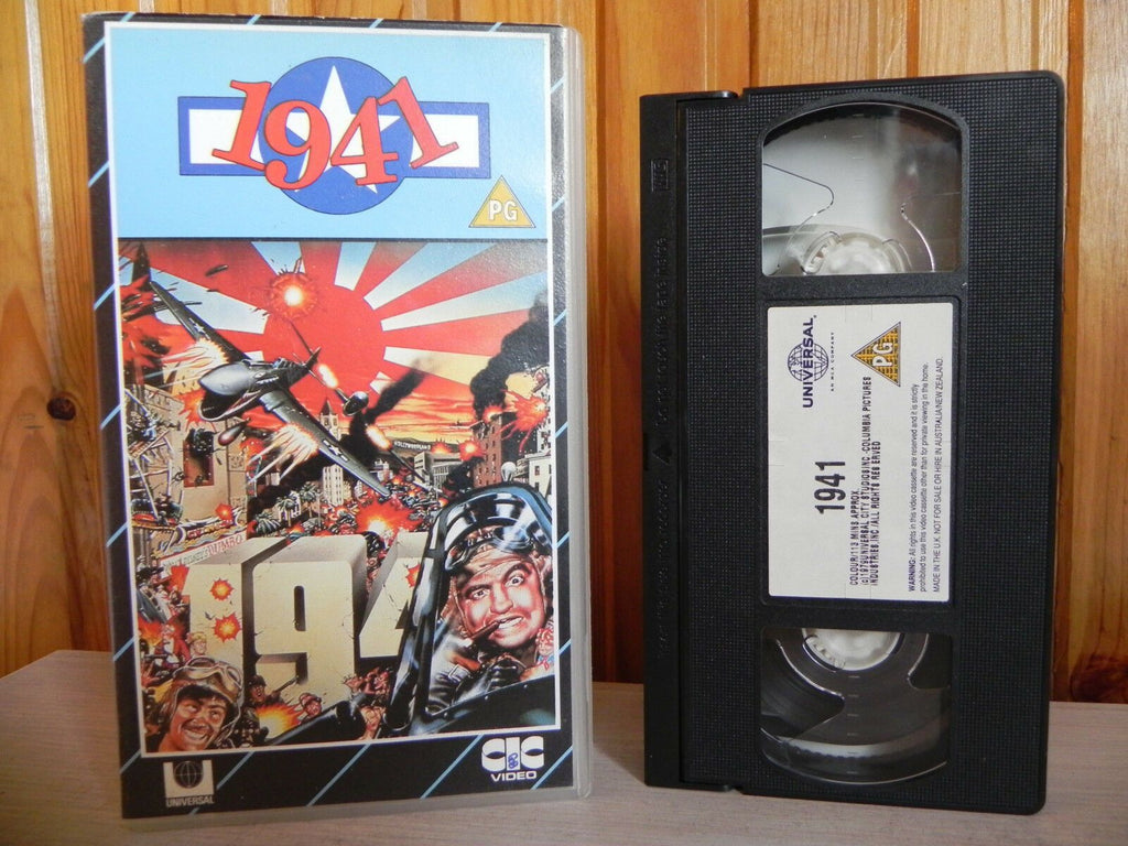 1941 - CIC Video - Classic Action Packed Comedy - John Belushi - Pal Video - VHS