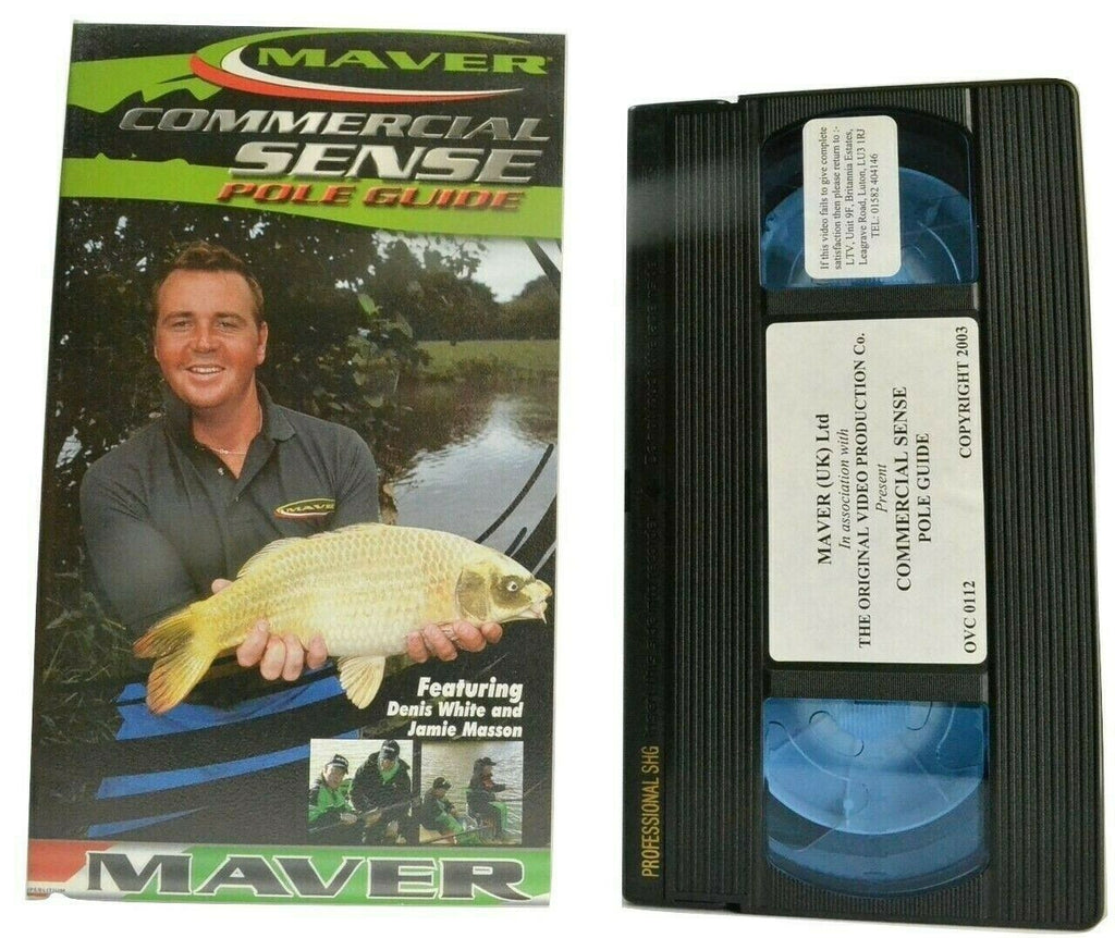 Commercial Sense: Pole Guide [Denis White / Jamie Masson] Fishing - Pal VHS