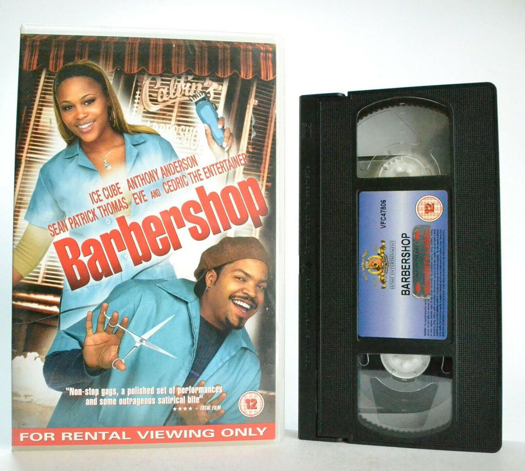 Barbershop: Metro Goldwyn (2002) - Comedy - Large Box - Ice Cube/Eve - Pal VHS