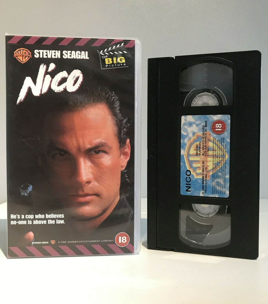 Nico (Above the Law): (1988) Action/Martial Arts - S.Seagal/S.Stone - Pal VHS