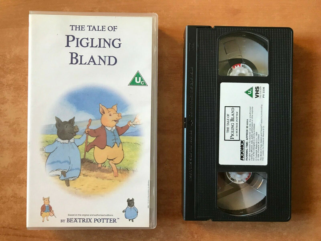 The Tale Of Pigling Bland; [Beatrix Potter] Animated Adventures - Kids - Pal VHS