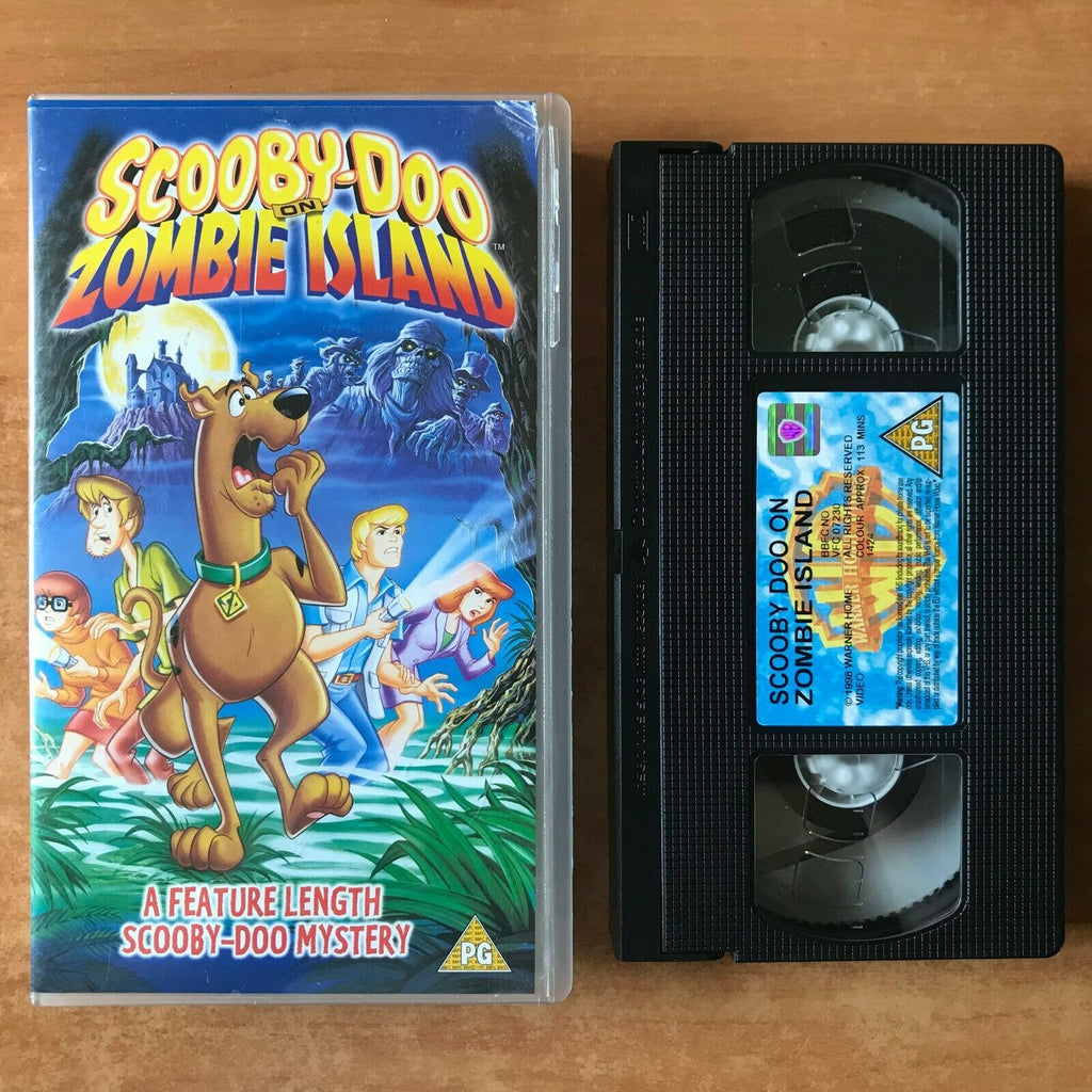 Scooby-Doo On Zombie Island - Animated Mystery [113mins] Children's - Pal VHS