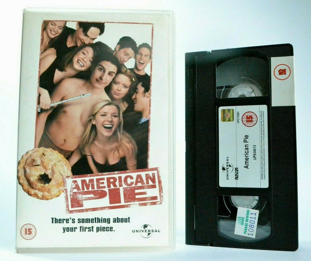 15, 2000, American, American Pie, Biggs, Box, Comedy, Jason, Jason Biggs, Large, Pal, Paul Weitz, Pie, Sex, Teen, VHS