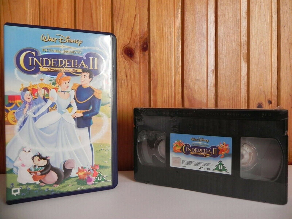 CINDERELLA 2 - DREAMS - BRAND NEW SEALED - WALT DISNEY VIDEO - KIDS - PAL VHS