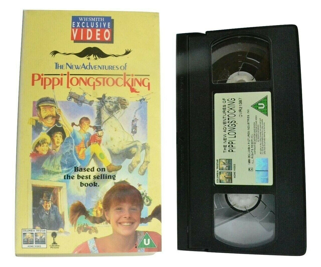 The New Adventures Of Pippi Longstocking; [Astrid Lindgren] - Children's - VHS