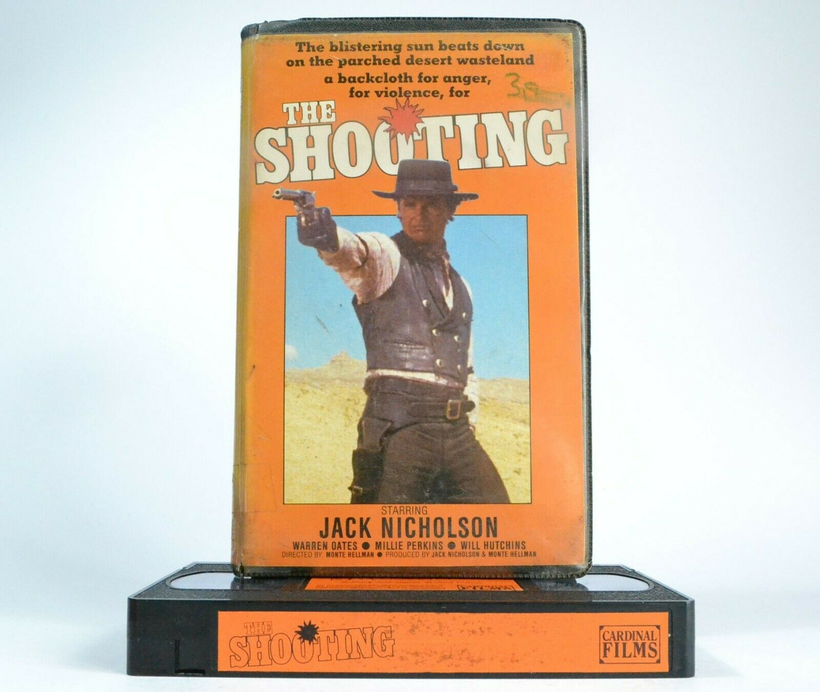 The Shooting (Cardinal Film): Western Action - Pre-Cert - Jack Nicholson - VHS