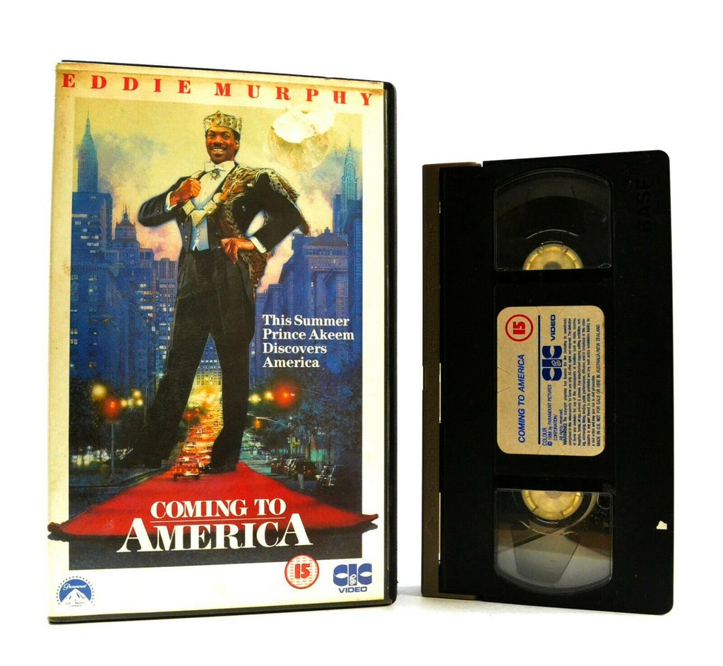 Coming To America: Comedy Classic (1988) - Large Box - Eddie Murphy - Pal VHS