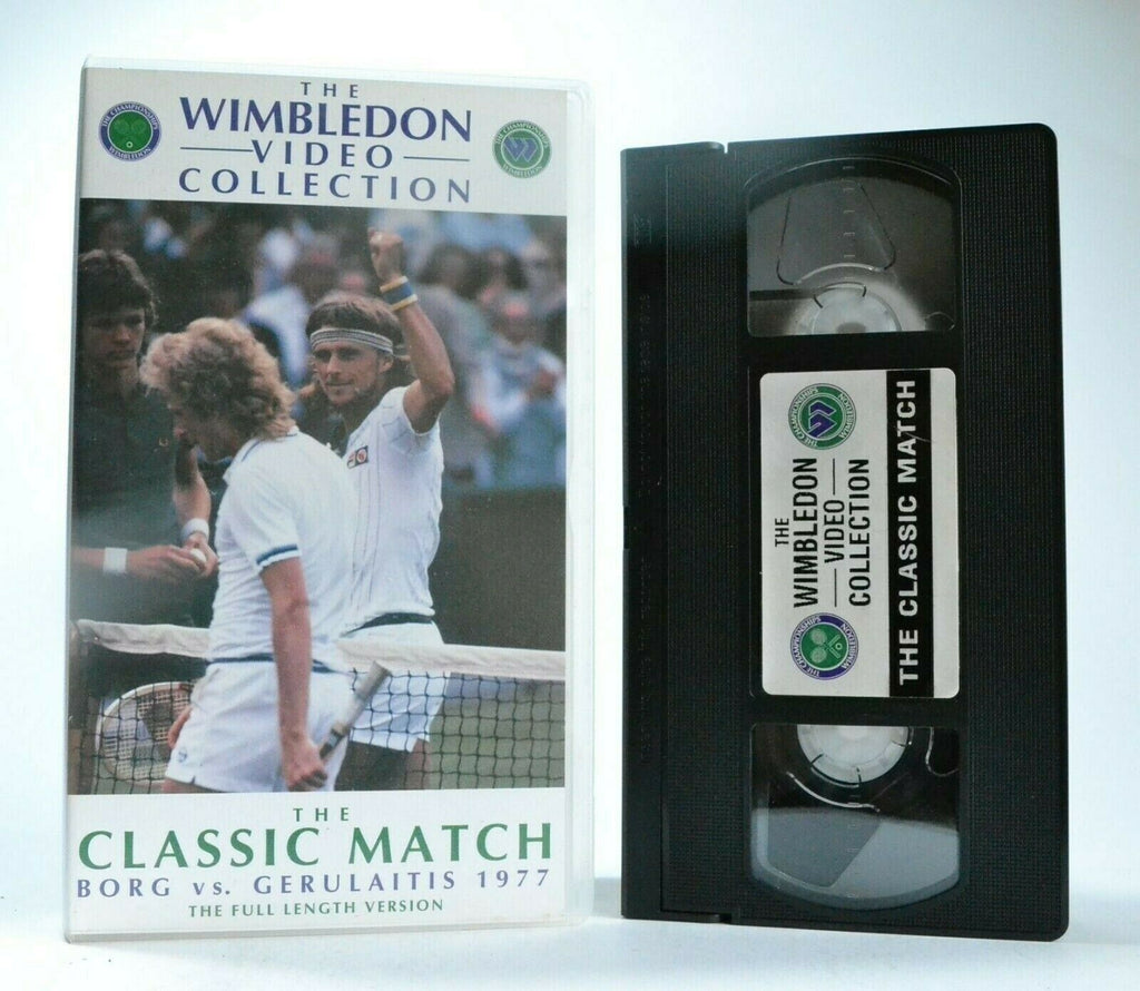 The Classic Match: Borg Vs.Gerulaitis (1977) - Wimbledon - Tennis - Sports - VHS