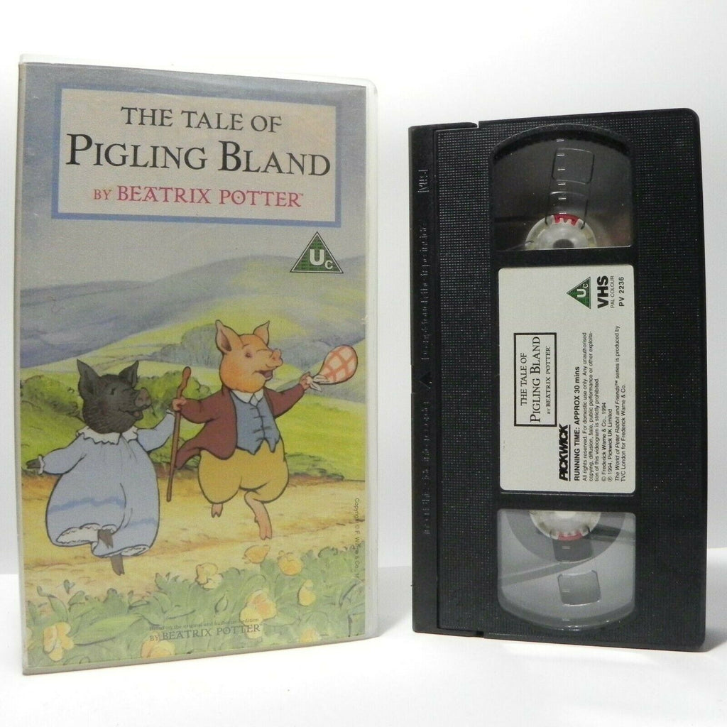 The Tale Of Pigling Bland: By Beatrix Potter - Classic Animation - Kids - VHS