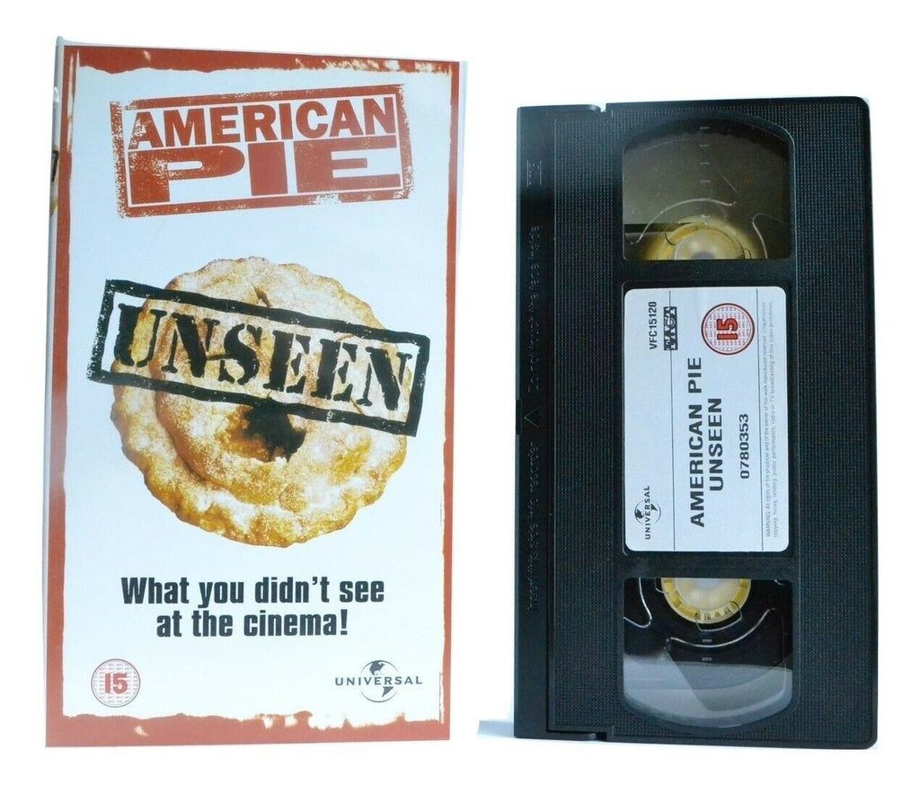 American Pie (Uncut Version) - (1999) Teen Sex Comedy - J.Biggs/M.Suvari - VHS