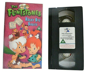 The Flintstones: Rocky Bye Babies - Hanna-Barbera - Animated - Children's - VHS