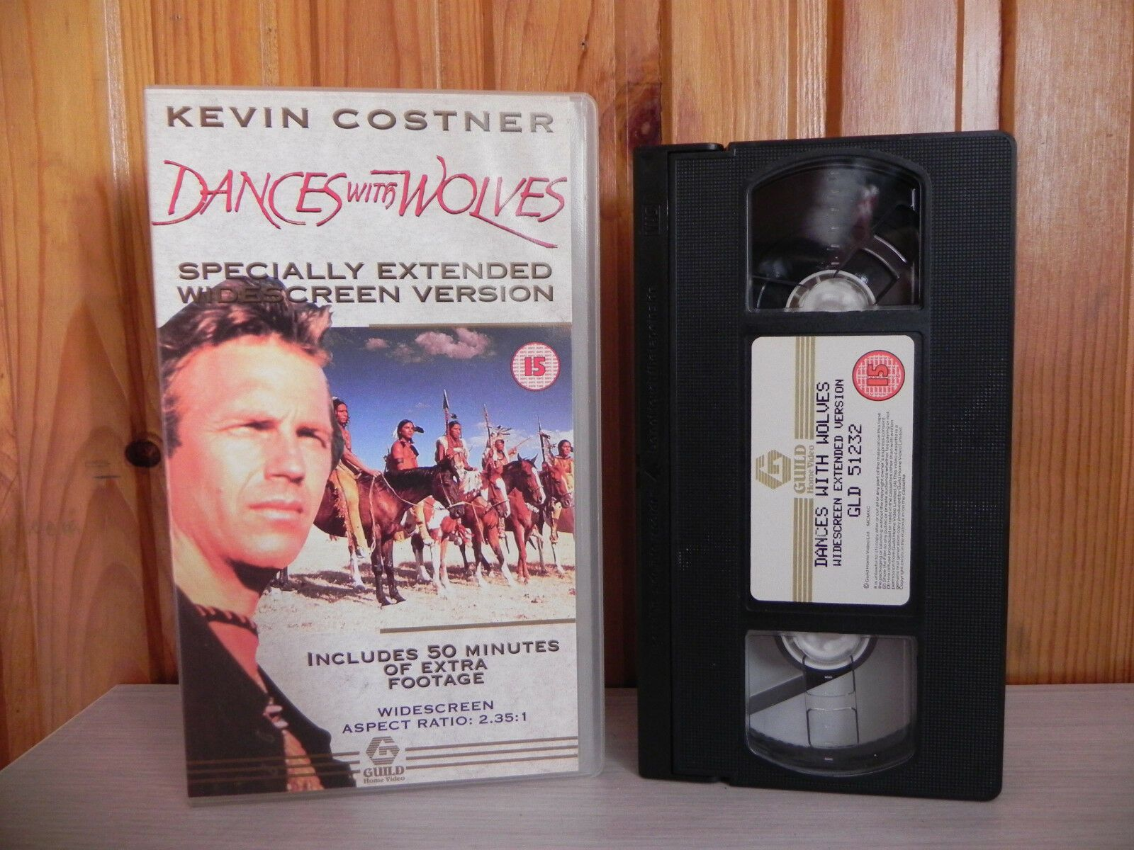 Action, Dances with Wolves, Kevin Costner, Pal, Special Edition, VHS, Western, Westerns, With