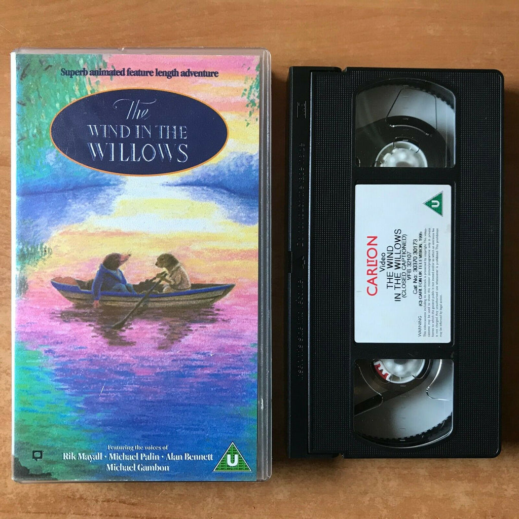 The Wind In The Willows; [Carlton] Animated - Michael Palin - Children's - VHS