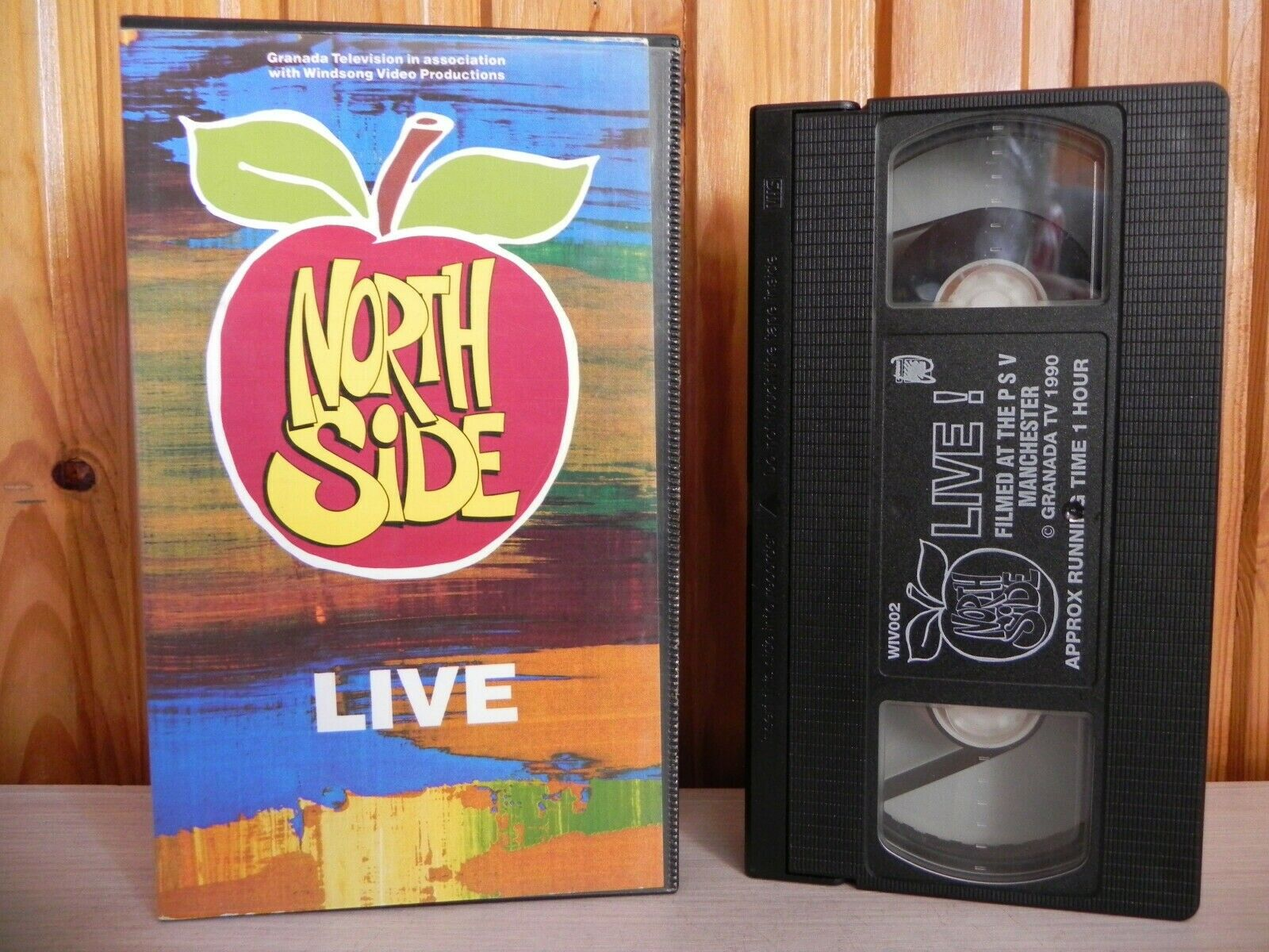 North Side: LIVE - Live Performance - PSV Club Manchester 8th October 1990 - VHS