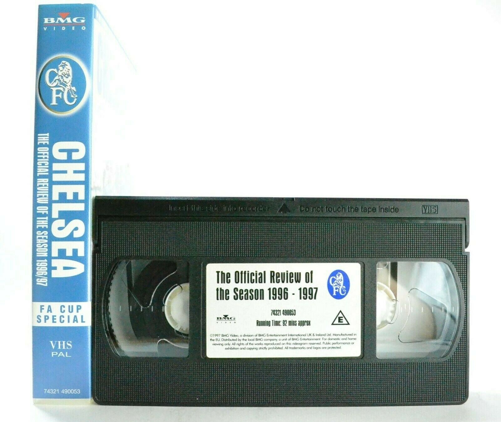 Chelsea, Cup, FA, Football, No, Pal, Review, Season, Special, Sports, VHS