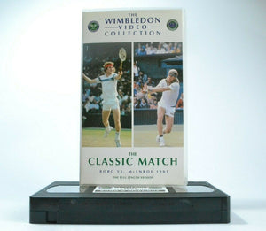 The Classic Match: Borg Vs.McEnroe (1981) - Wimbledon Video Collection - Pal VHS