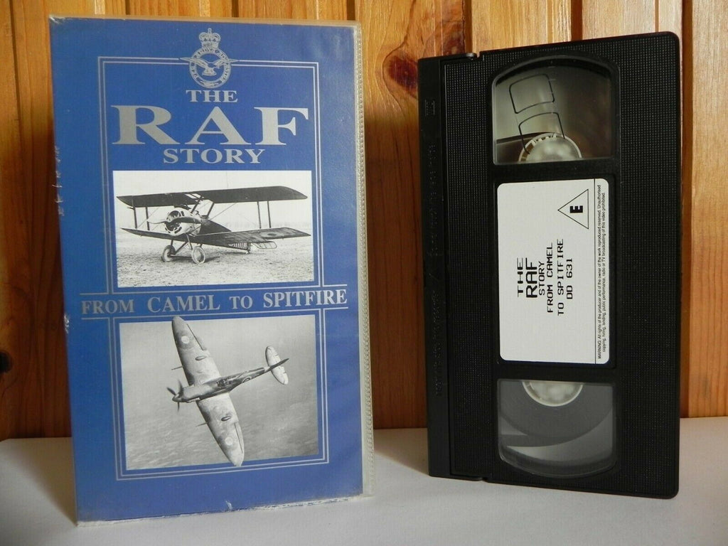 The RAF Story - From Camel To Spitfire - Documentary - Royal Air Force - VHS