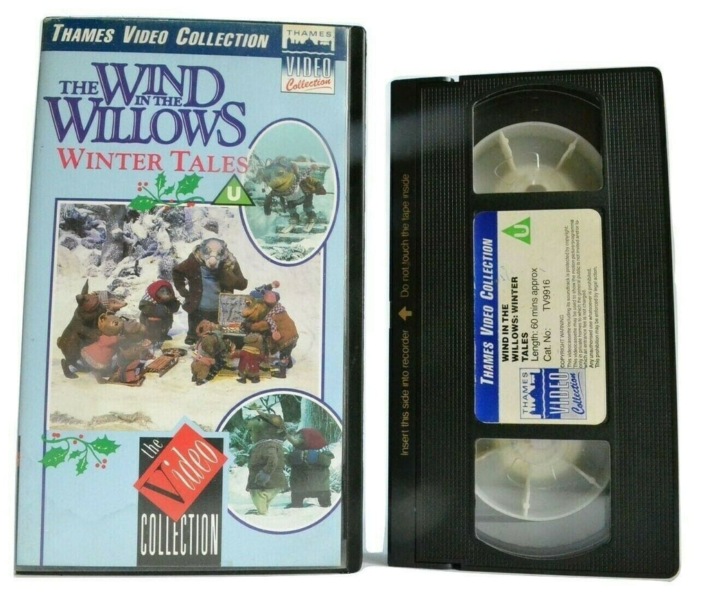 Wind In The Willows: Winter Tales; [Kenneth Grahame] Animated - Kids - Pal VHS