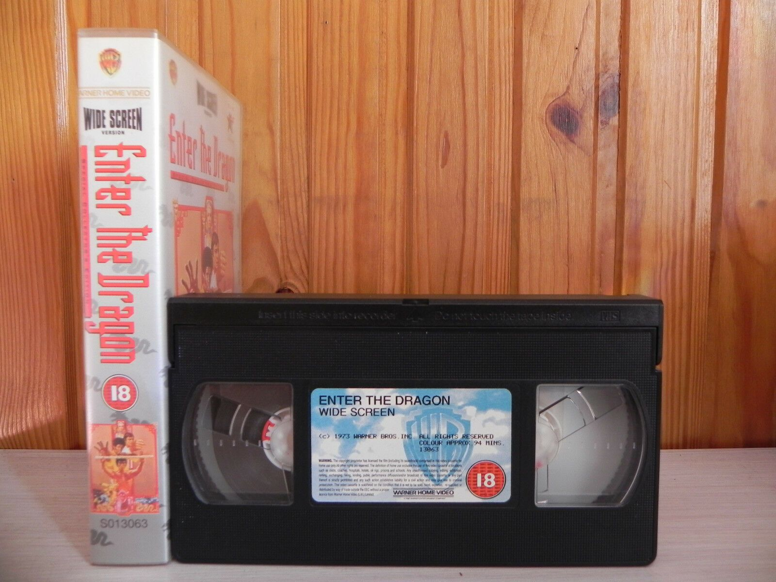 Enter The Dragon - Bruce Lee - Widescreen - Remastered Kung-Fu - Action - VHS