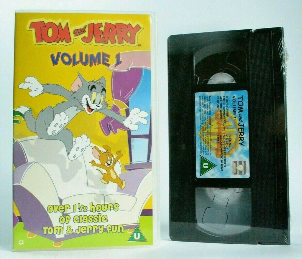 Tom And Jerry: Volume 1 - Brand New Sealed - Classic Animation - Kids - Pal VHS