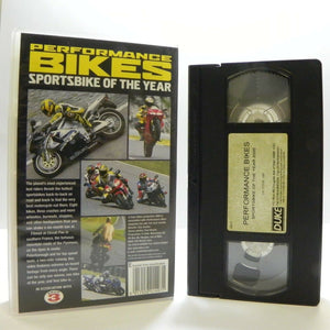 Performance Bikes: Sportsbike Of The Year 2000 - Yamaha R6 - Honda VFR800 - VHS