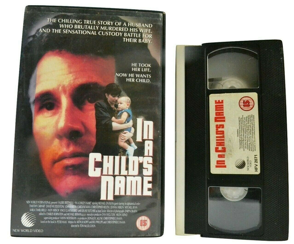 In A Child's Name: (1991) TV Miniseries [Biographical Drama] Large Box - Pal VHS