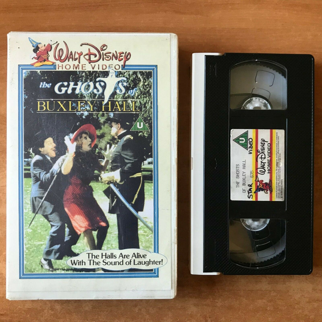 The Ghosts Of Buxley Hall: (1980) Made For TV [Big Box] Fantasy - Kids - Pal VHS