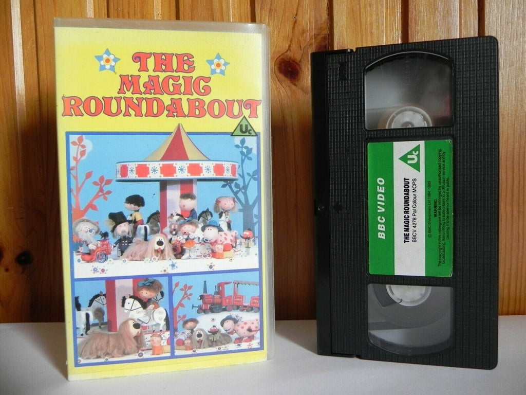 The Magic Roundabout - Classic Series - 13 Episodes - Children's - Pal VHS