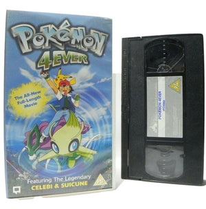 Pokemon 4Ever - Animated - Action Adventures - Full Movie - Children's - Pal VHS