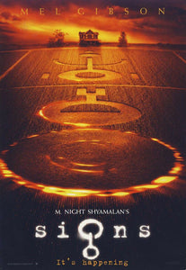 Signs (2002): Sci-Fi Mystery Thriller - Mel Gibson / Joaquin Phoenix - Pal VHS