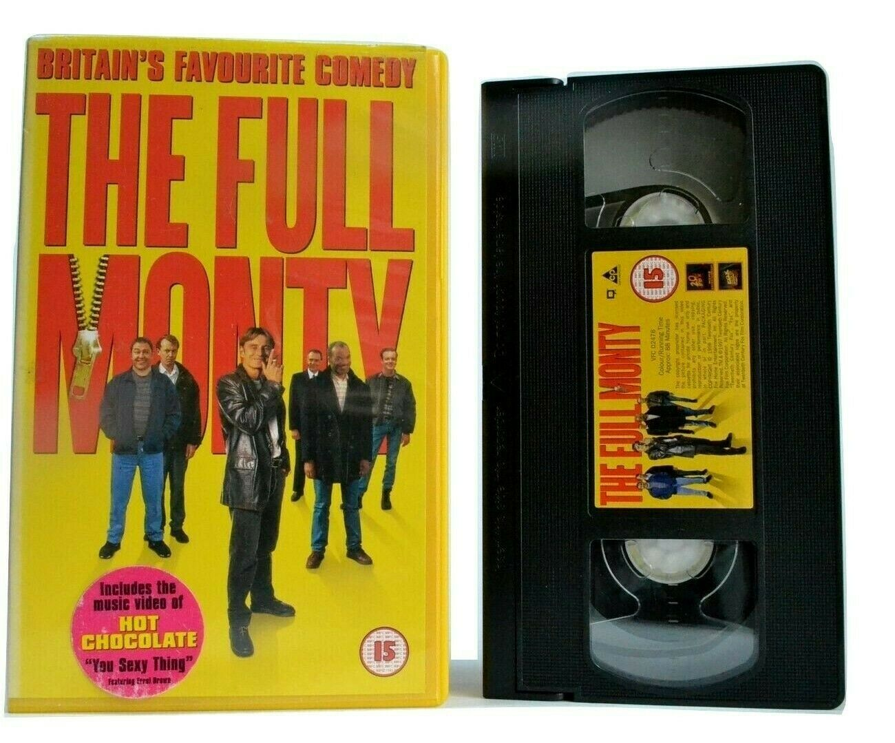 The Full Monty (1997): Britain's Favourite Comedy - Male Striptease Act - VHS