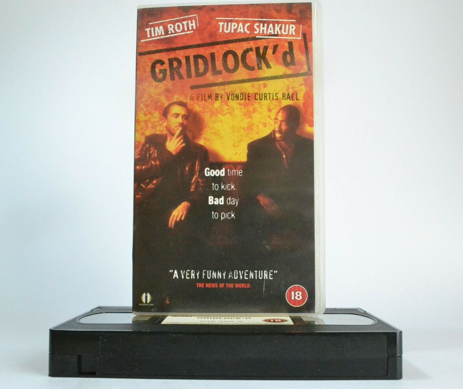 Addicts, Adventures, Black, Comedy, Gridlock'd, Heroin, PAL, Shakur, Tupac, VHS