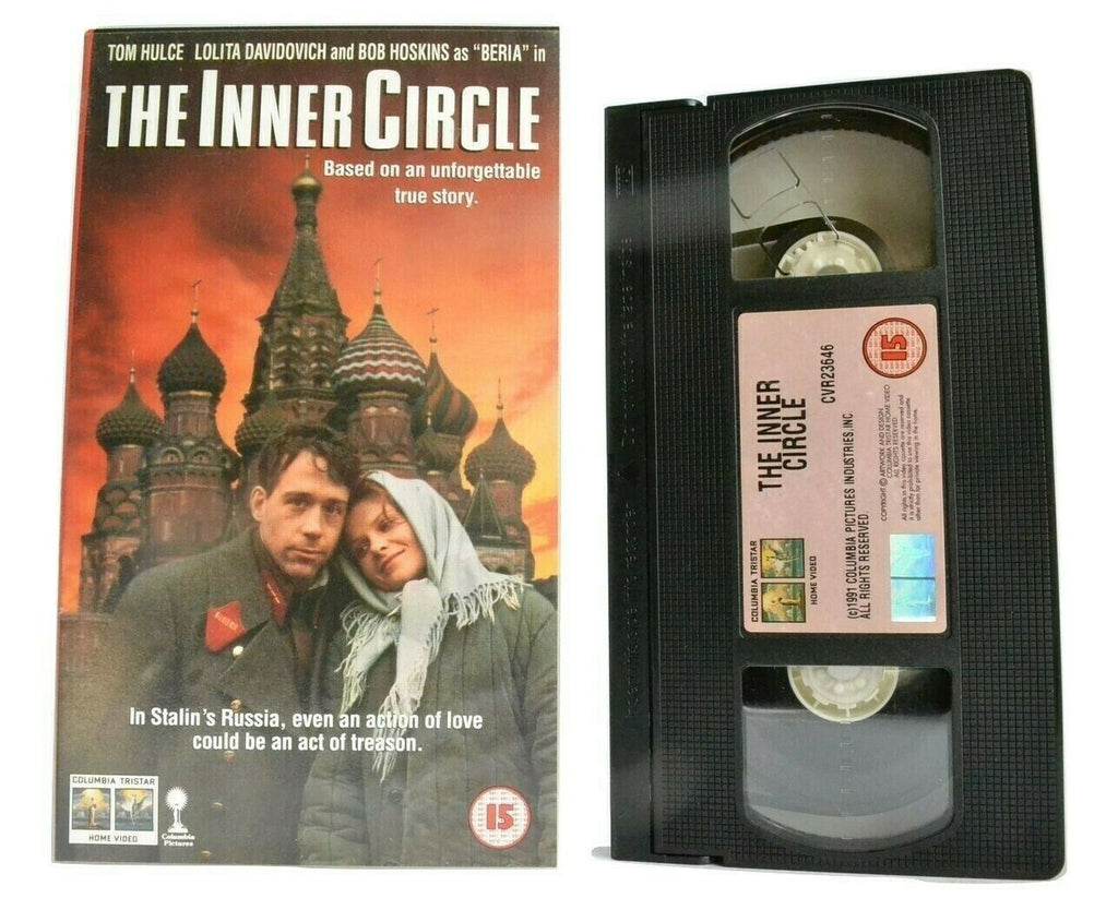 The Inner Circle (1991): Biographical Drama - Stalinism - Bob Hoskins - Pal VHS