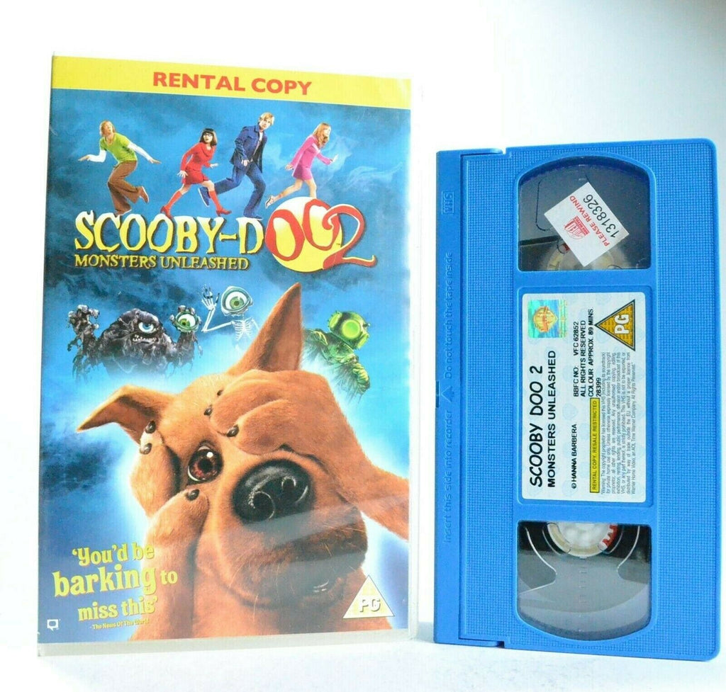 Scooby-Doo 2: Monsters Unleashed - Large Box - Based On TV Series - Kids - VHS