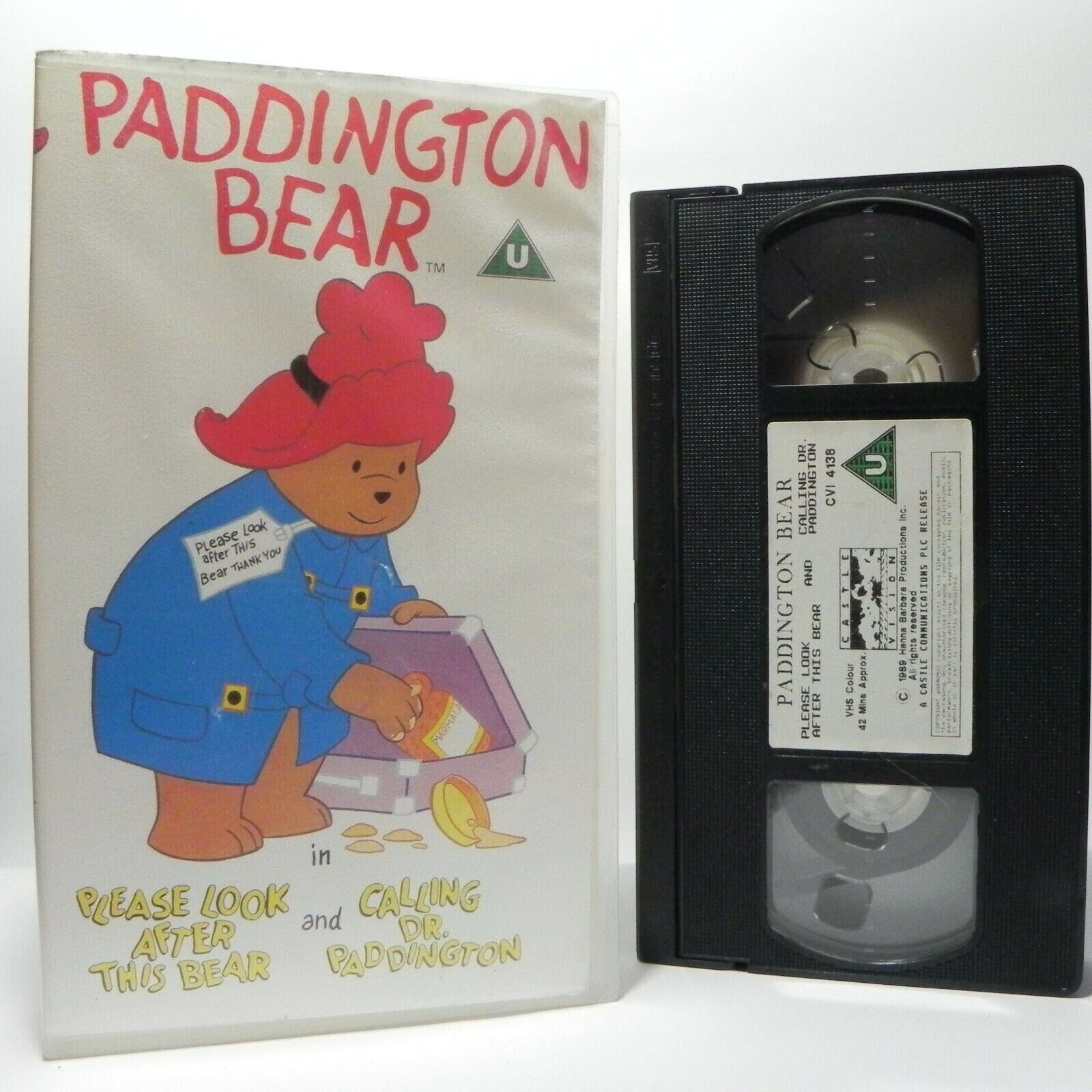 Paddington Bear: Please Look After This Bear - Classic Animation - Kids - VHS