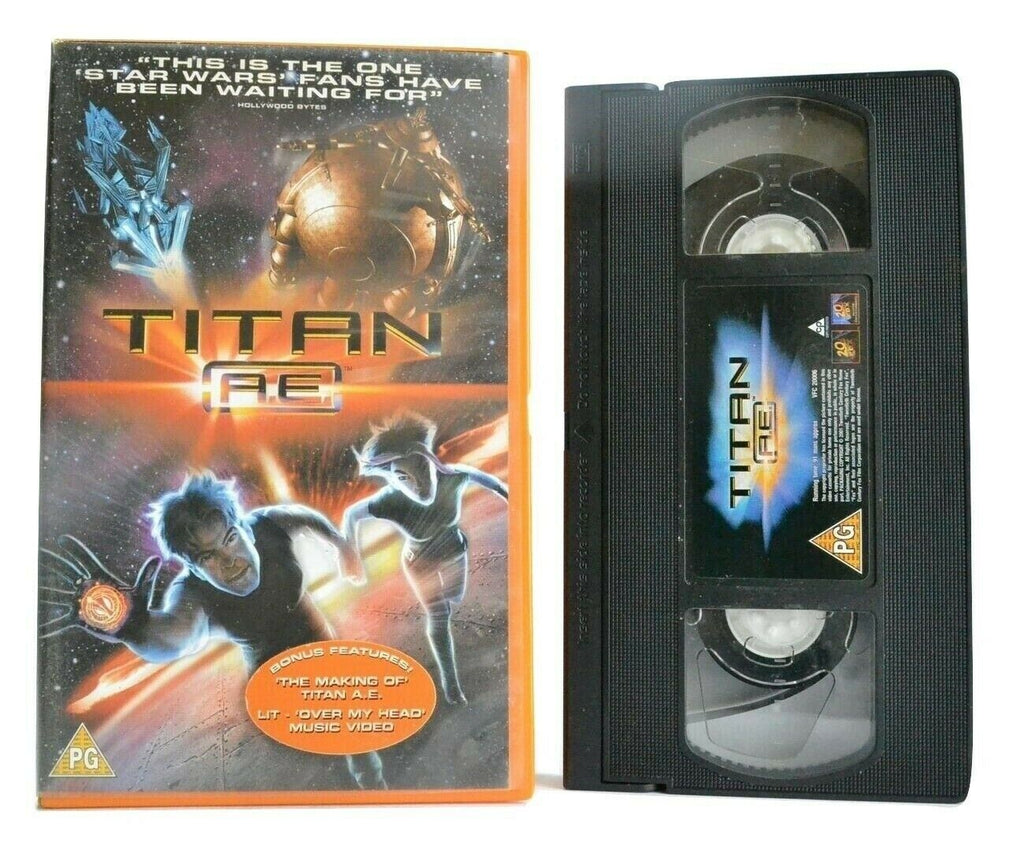 Titan A.E. (2000): Animated - Post-Apocalyptic Sci-Fi - Children's - Pal VHS