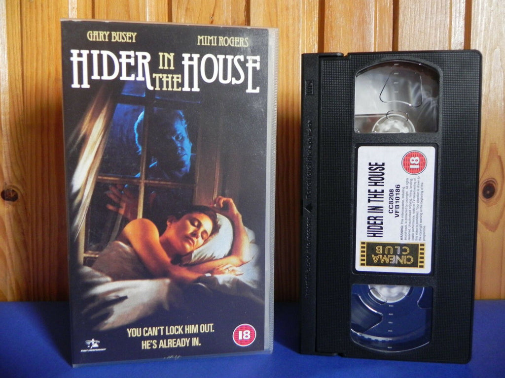 Hider In The House - First Independent - Thriller - Gary Busey - OOP Pal VHS
