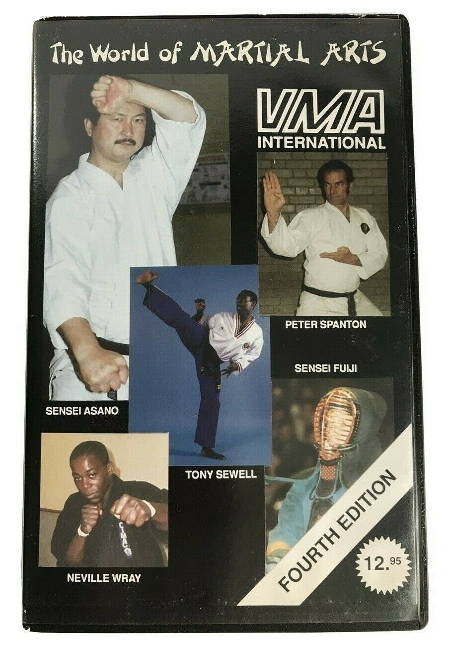 VMA - World Of Martial Arts (Tony Sewell) 4th Edition - Sensei Asano - Pal VHS