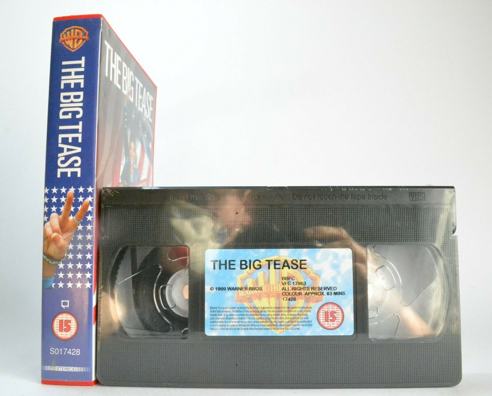 The Big Tease (1999); [Kevin Allen]: Brand New Sealed - Craig Ferguson - Pal VHS