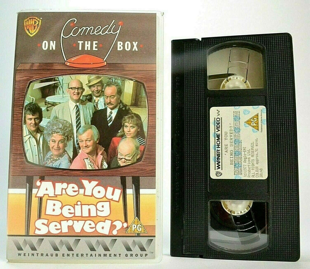 Are You Being Served (1977) -<David Croft/Jeremy Lloyd>- BBC Sitcom - Pal VHS