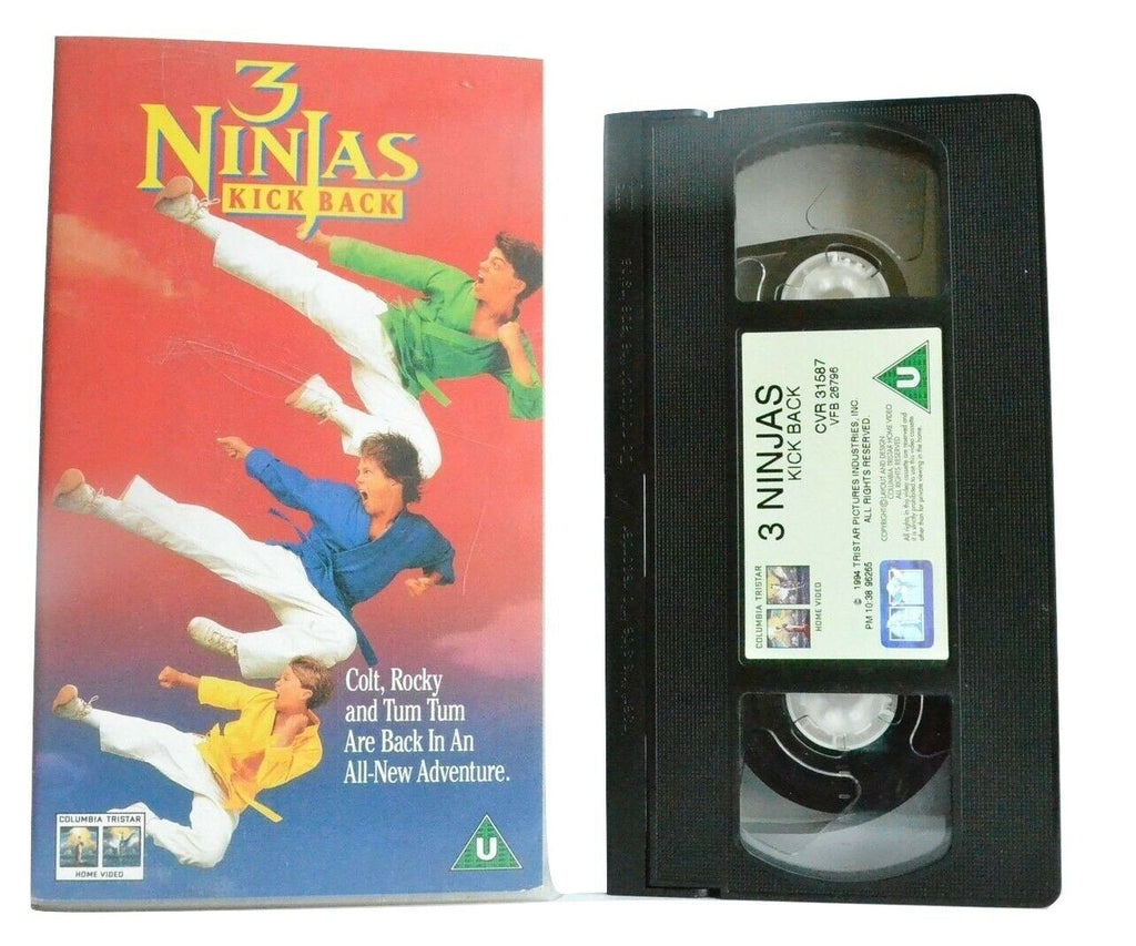 Action, Arts, Columbia, Kick, Martial, Martial Arts, Ninjas, Pal, Teen, Tristar, VHS